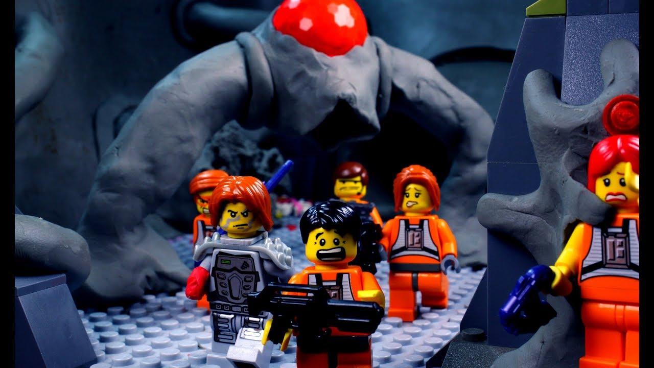 The Lego Zombie Apocalypse 9: Bloodbath - YouTube