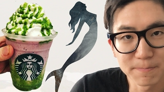 We Tried Starbucks' Mermaid Frappuccino