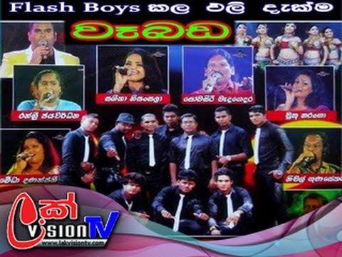 Flash Boys Live Show at Weboda