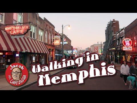 Peabody Ducks!  Crystal Grotto!  Beale Street! - Tour Of Memphis
