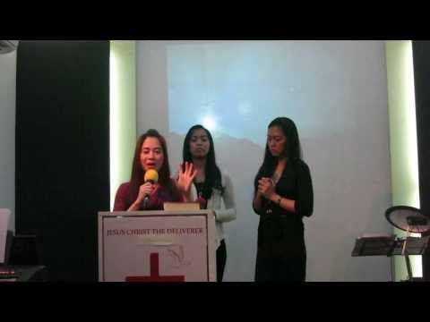Special No. from Maya Sisters! For the Glory of God! Roxanne, Joanna & Carisa. Halelujah!!