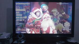 Playing Overwatch XBox ONE