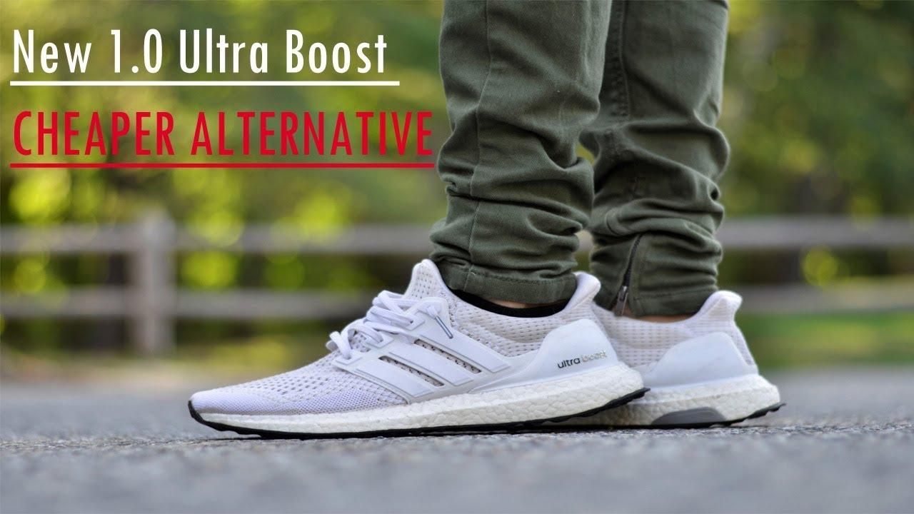 designer fashion d5c13 4a925 Ultra boost 4.0 Triple White Review || INSANE 1.0 ALTERNATIVE