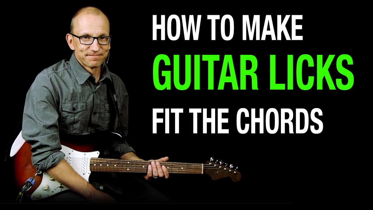Making Guitar Licks fit the Chords - Q & A with Robert Renman