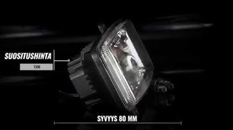Revon RAV500 LED-ajovalo