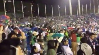 7th inning stretch at Tokyo Yakult Swallows game