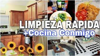 LIMPIA Y COCINA CONMIGO🇩🇴🇺🇸|🌻Limpieza de casa OTOÑO | Fall clean with me| Video de limpieza