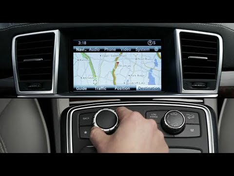 review of mercedes benz ml w166 comand system youtube. Black Bedroom Furniture Sets. Home Design Ideas