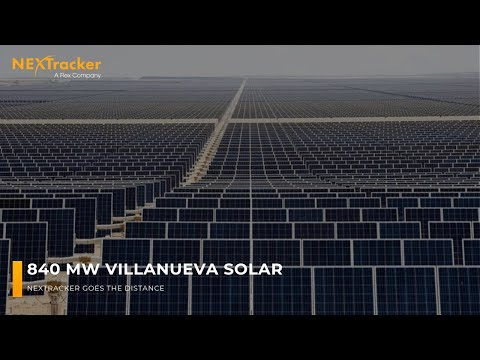 NEXTracker Achieves 100% On-Time Delivery of 754 MW of Solar Trackers to Enel Green Power's Villanueva Solar Power Plant