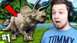 OTWIERAMY WŁASNY *PARK JURAJSKI*! GRA ROKU?! | Jurassic World Evolution #1