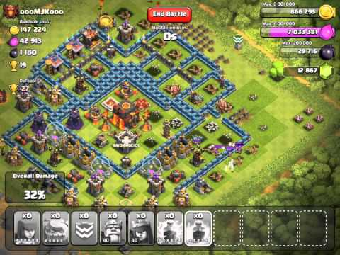 clash of clans attacks episode 19 galadon 39 s account. Black Bedroom Furniture Sets. Home Design Ideas