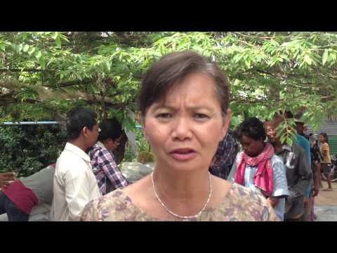 Food distribution in Roka Kiri-Battambang-Donation from St. Catherines-Ontario-Canada