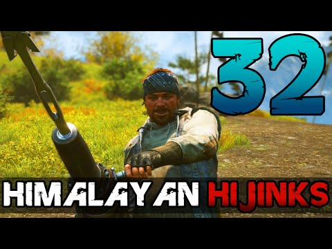 [32] Himalayan Hijinks (Let's Play Far Cry 4 PC w/ GaLm) [1080p 60FPS]