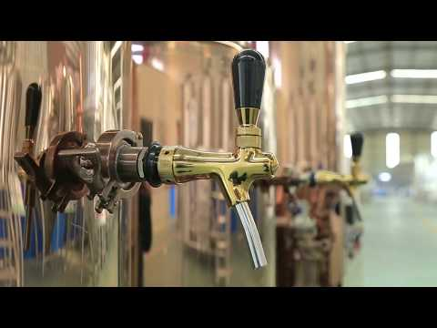 Luxury Red Copper 50L Home DIY Craft Beer Brewery Equipment Small Equipment For Home Business