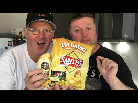 Smith's Bega Tasty Cheese & Nescafe Gold Iced Coffee | Live Review