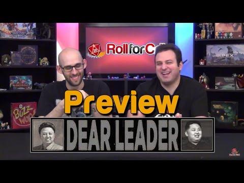 Dear Leader Kickstarter Preview | Roll For Crit