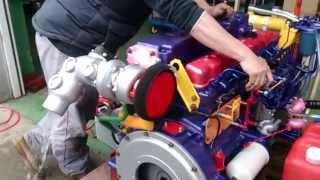 Nissan marine engine SD33T6 TEST 3.3turbo