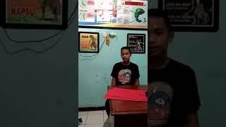 Deklarasi Tolak Politisasi Tempat Ibadah Oleh Sdr Reky Rompah Warga Kampung Lai Kec. Siau Tengah
