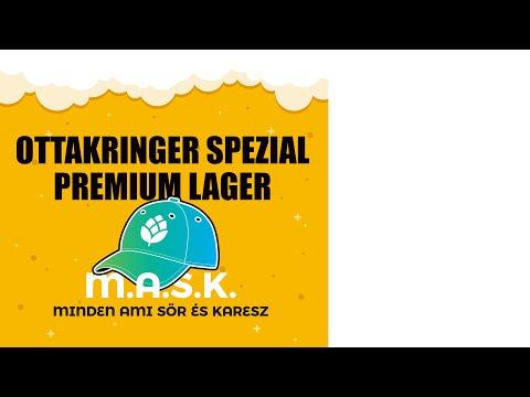 Ottakringer Spezial Premium Lager sör - Osztrák-Magyar Kooperáció :) ( Magyar változat)