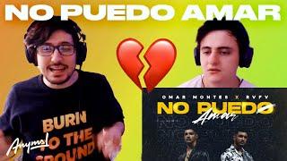 [Reacción] Omar Montes x Rvfv - No Puedo Amar (Video Oficial)   ANYMAL LIVE 🔴