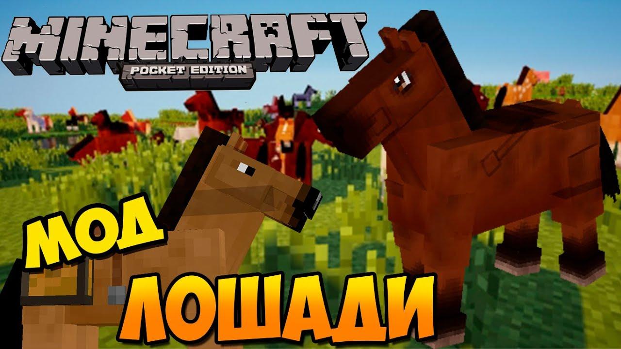Скачать мод на лошадь в майнкрафт