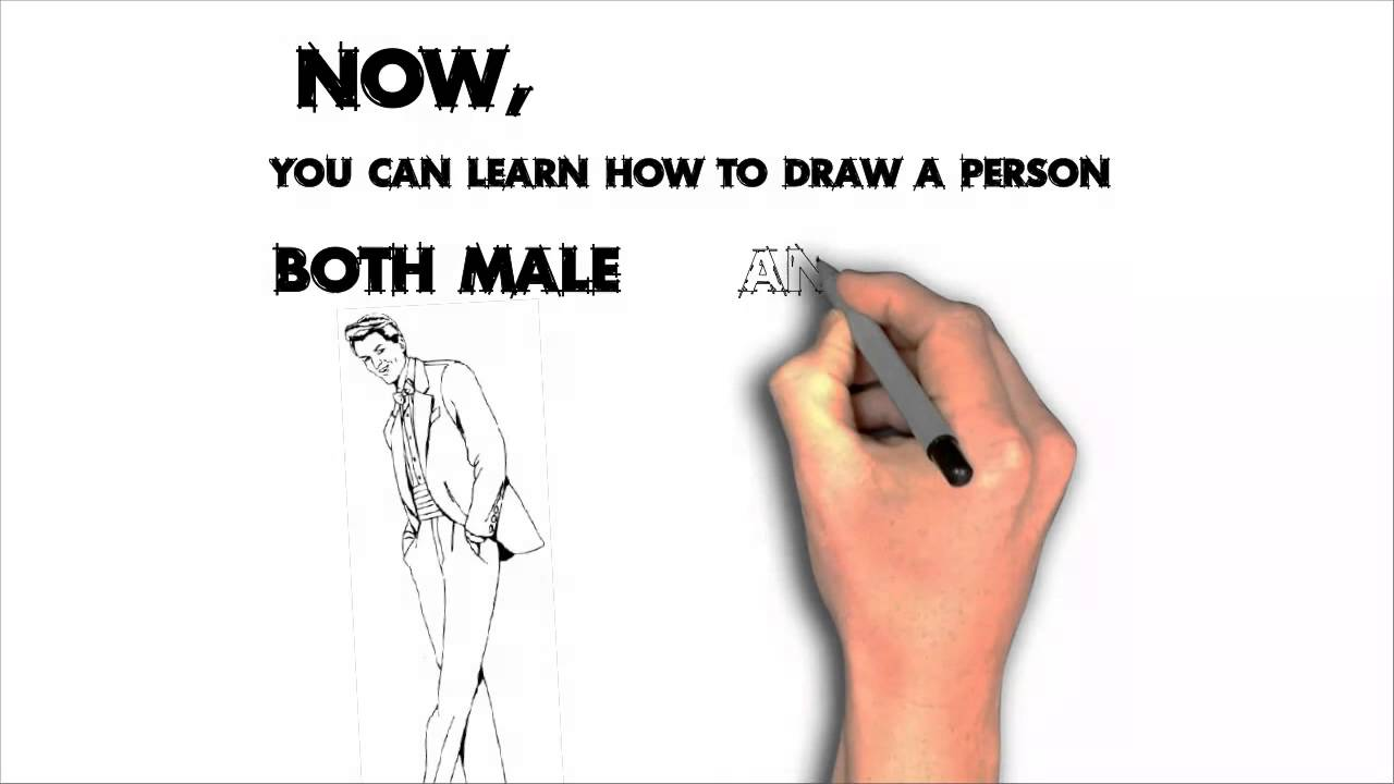 Learn More How To Draw A Person For Beginners  Learn To Draw Person  Stepbystep