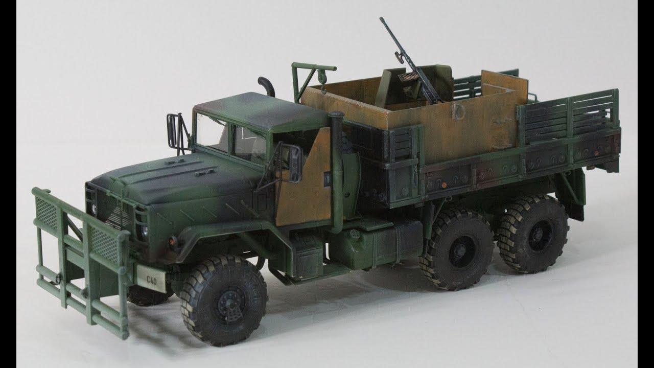 "US M923 /""Hillbilly/"" Gun Truck Italeri 6513 1:35"
