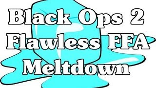 Black Ops 2: Flawless Free For All By Fudge X On Meltdown (xbox 360)