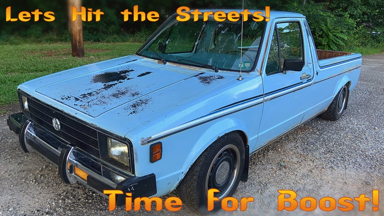 The Barn Find Volkswagen Caddy Hits the Road with Boost! TDI Swap Part 4