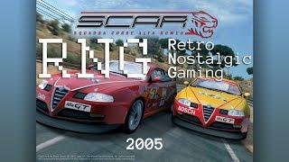 Retro Nostalgic Gaming: SCAR Squadra Corse Alfa Romeo (2005) 4K 60fps