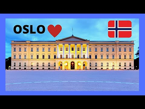 OSLO, the spectacular and historic ROYAL PALACE (NORWAY)