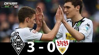 Borussia Mönchengladbach vs VfB Stuttgart 3-0 Bundesliga 09/12/2018