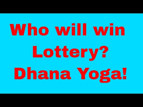 Who will win Lottery - Dhana Yogam in Tamil Astrology and Jothidam (Wealth giving planets)