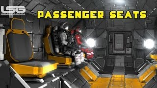 Space Engineers - Passenger Seats, Magnetic Conveyor Connector System