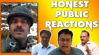 BSF JAWAN VIRAL VIDEO PUBLIC REACTIONS