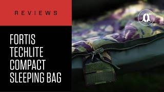 CARPologyTV - Fortis Techlite Compact Sleeping Bag Review