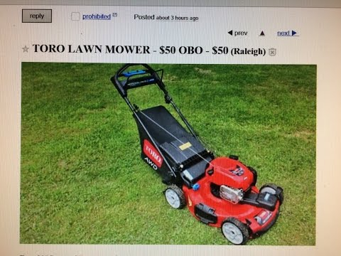 Funny Craigslist Ads Lawn Mower - Funny Beouty Parlour HD
