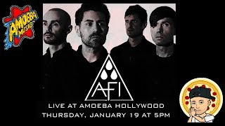 AFI Live @Amoeba Hollywood (The Blood Album Release)