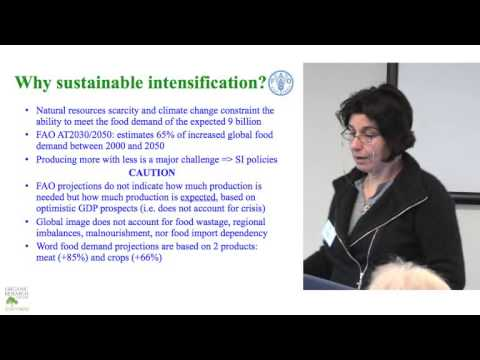 Nadia Scialabba - 2013 Organic Producers' Conference