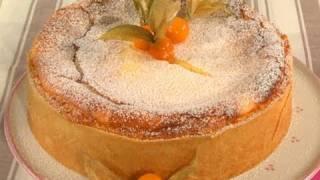 Rezept: Käsekuchen mit Quark und Mürbeteig selber machen