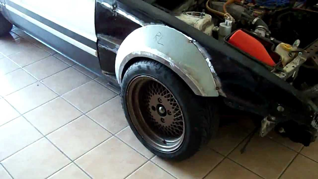 100mm Ae86 Fender Flares Part 1 Youtube