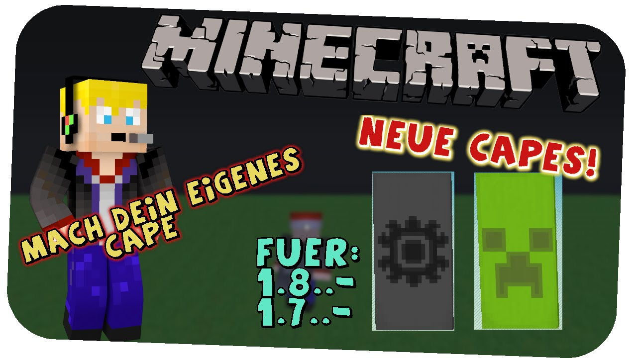 Neue Capes! Neues Design! Individuell! Minecraft Umhänge ...