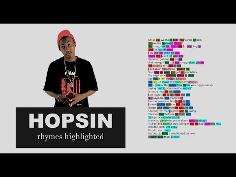 Hopsin - How You Like Me Now - Verse 3 - Lyrics, Rhymes Highlighted