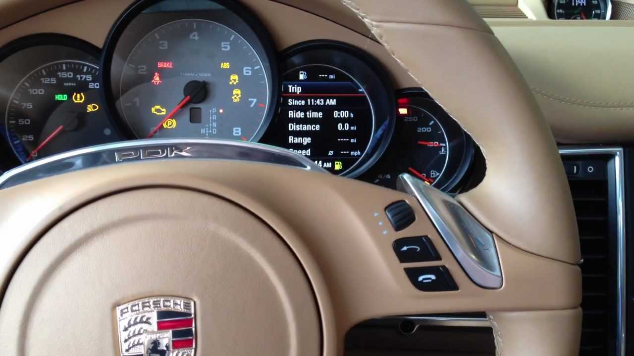 How To Change The Clock In A Porsche Panamera Cayenne