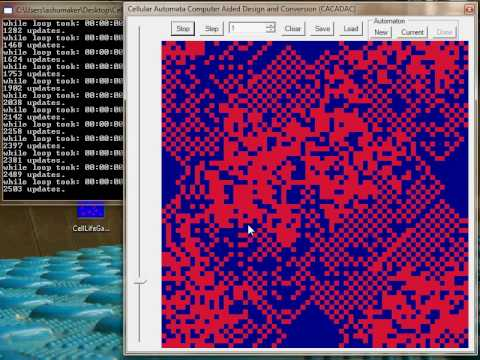 Cellular Automata modeled with Neural Networks