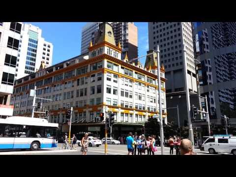 Mark Foy's and Museum - Railway Station - Sydney Australia HD 01