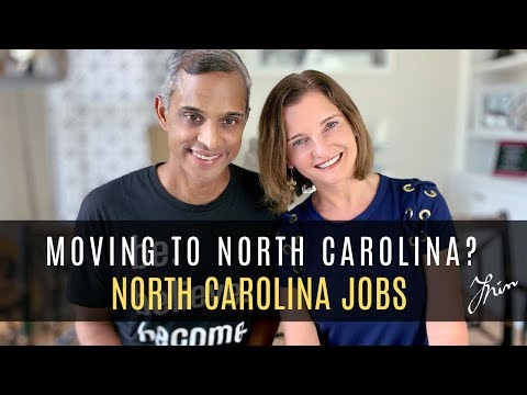 Moving To North Carolina | Jobs