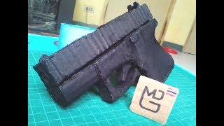 Homemade Cardboard Glock 26 Tutorial