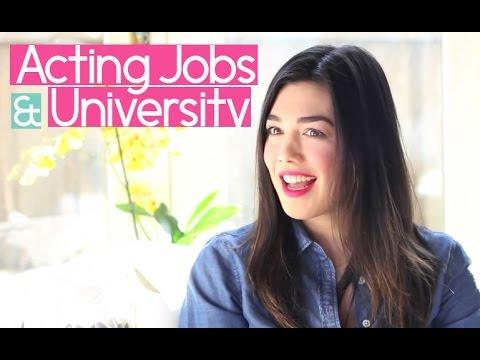 Melanie Vallejo: Going For Acting Jobs & Graduating University