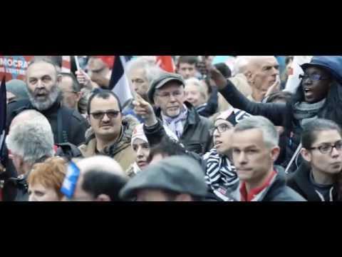مرشح حركة فرنسا الأبية في الانتخابات الرئاسية جان لوك_ميلانشون  - 21:22-2017 / 4 / 23